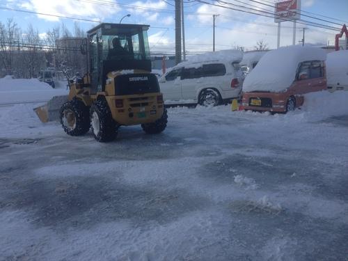 東京オートサロン準備の予定が除雪始めに、明寿ブログ、ランクル200ディーゼル_b0127002_20331365.jpg
