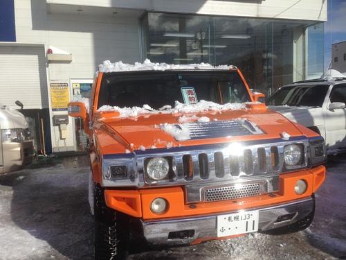 東京オートサロン準備の予定が除雪始めに、明寿ブログ、ランクル200ディーゼル_b0127002_20411122.jpg