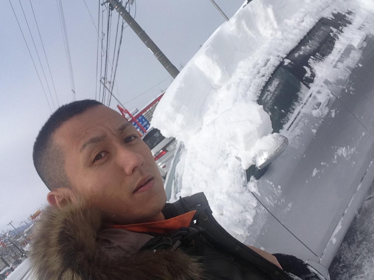 東京オートサロン準備の予定が除雪始めに、明寿ブログ、ランクル200ディーゼル_b0127002_20474611.jpg
