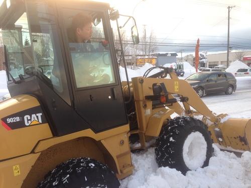 東京オートサロン準備の予定が除雪始めに、明寿ブログ、ランクル200ディーゼル_b0127002_20492860.jpg