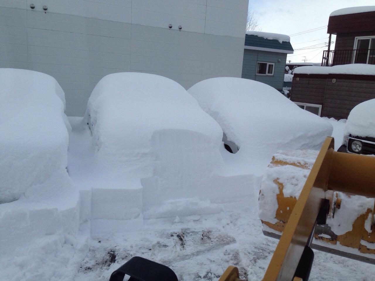東京オートサロン準備の予定が除雪始めに、明寿ブログ、ランクル200ディーゼル_b0127002_20502635.jpg