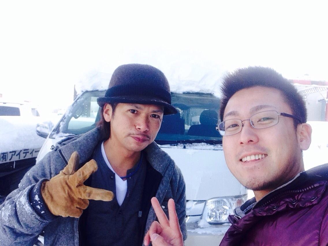 東京オートサロン準備の予定が除雪始めに、明寿ブログ、ランクル200ディーゼル_b0127002_2058319.jpg