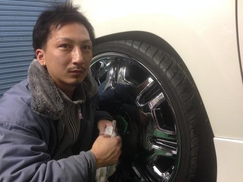 東京オートサロン準備の予定が除雪始めに、明寿ブログ、ランクル200ディーゼル_b0127002_21123087.jpg