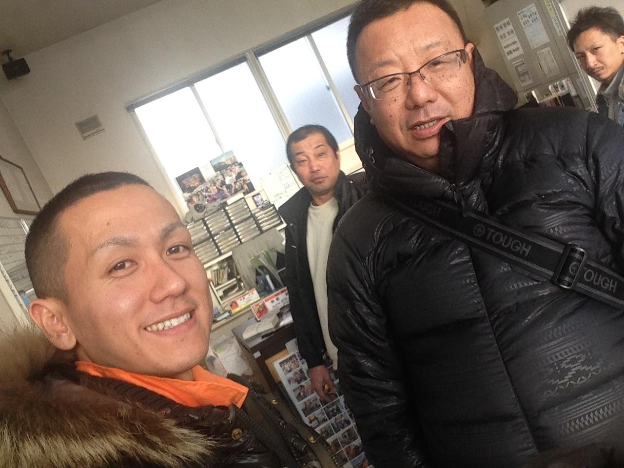 東京オートサロン準備の予定が除雪始めに、明寿ブログ、ランクル200ディーゼル_b0127002_21251032.jpg