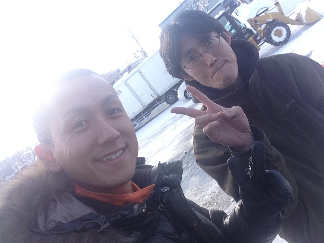 東京オートサロン準備の予定が除雪始めに、明寿ブログ、ランクル200ディーゼル_b0127002_21285119.jpg