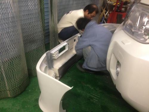 東京オートサロン準備の予定が除雪始めに、明寿ブログ、ランクル200ディーゼル_b0127002_22145141.jpg