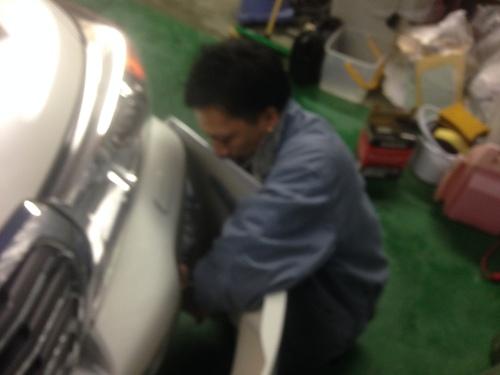 東京オートサロン準備の予定が除雪始めに、明寿ブログ、ランクル200ディーゼル_b0127002_22151488.jpg