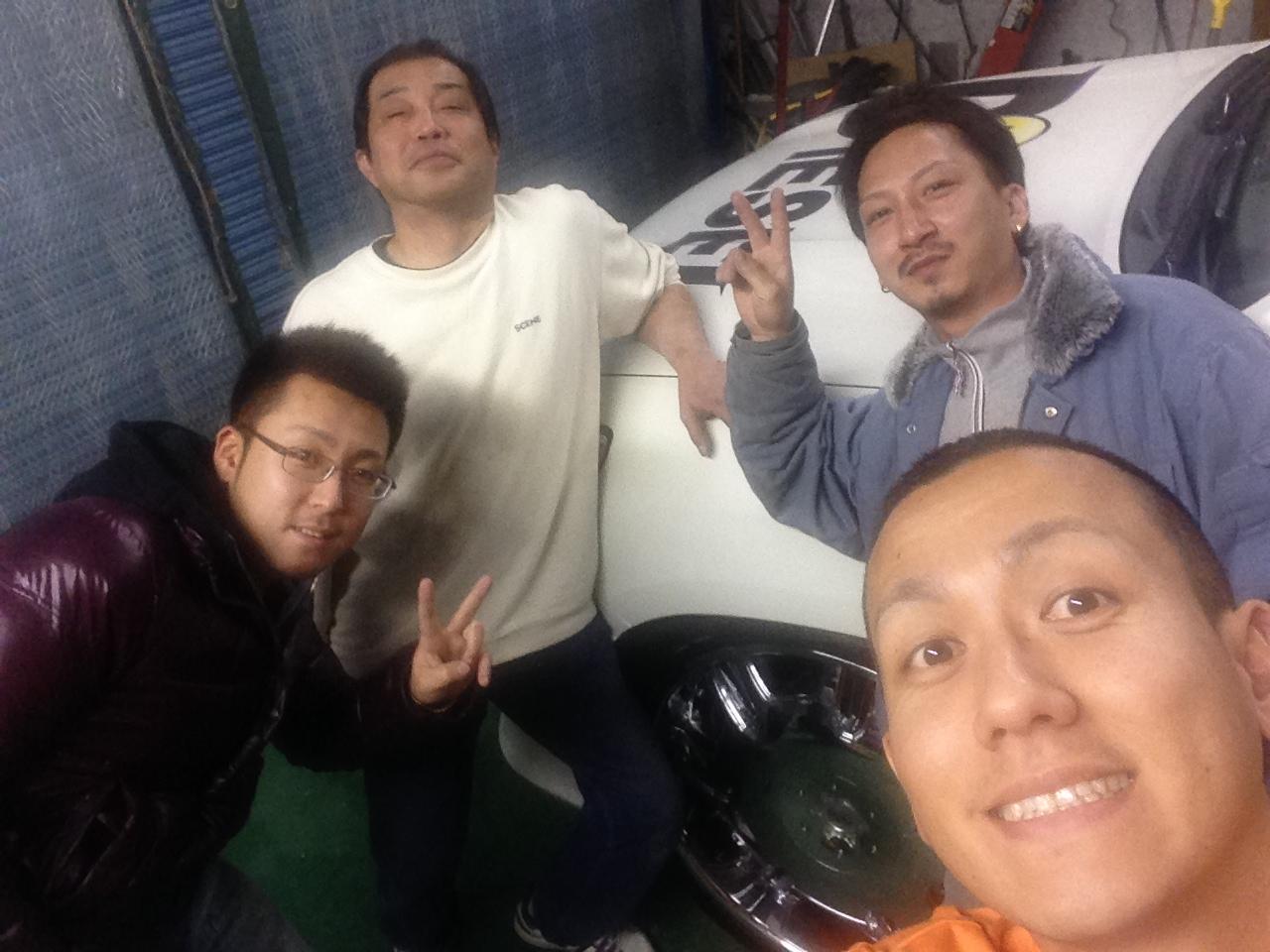 東京オートサロン準備の予定が除雪始めに、明寿ブログ、ランクル200ディーゼル_b0127002_2235780.jpg