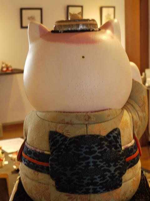 平成の招き猫展 2014 ② @益子 もえぎ_b0116313_2136282.jpg