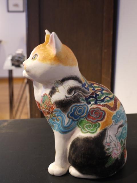 平成の招き猫展 2014 ② @益子 もえぎ_b0116313_21394488.jpg
