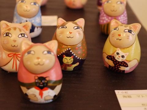 平成の招き猫展 2014 ② @益子 もえぎ_b0116313_2142210.jpg