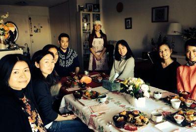 ☆新年のアファメーション瞑想とマクロ美お節コラボ☆_f0095325_1235291.jpg