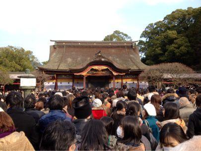 櫛田神社&太宰府天満宮に初詣_e0133535_21203066.jpg