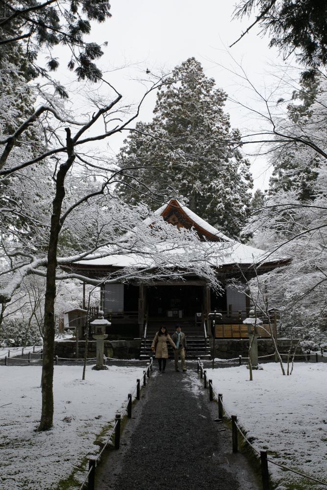 雪景色 2013 <大原 三千院>             _f0021869_2223174.jpg