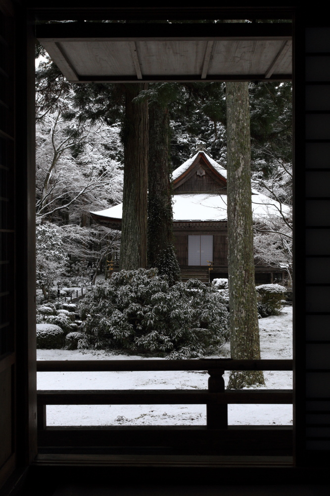 雪景色 2013 <大原 三千院>             _f0021869_2225149.jpg