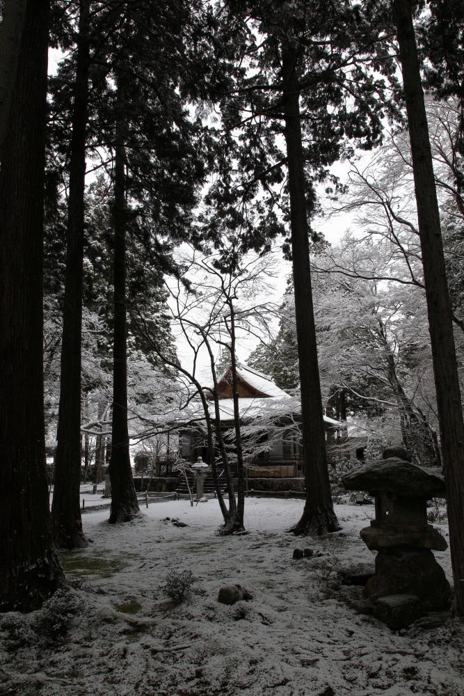 雪景色 2013 <大原 三千院>             _f0021869_22273233.jpg
