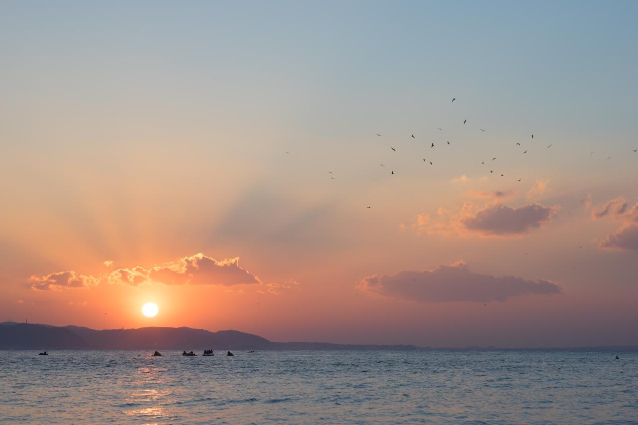 初日の出を見に行く江の島(3)_c0112872_08371855.jpg
