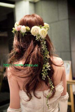 2009.12.18 花嫁さまのお写真 みささんの花冠_b0120777_21363335.jpg