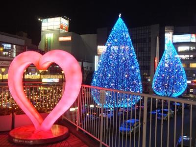 イルミネーション2013(所沢駅)_d0044093_21421419.jpg