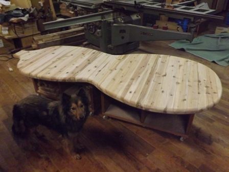 ひょうたんテーブル 製作中_f0206159_1931193.jpg