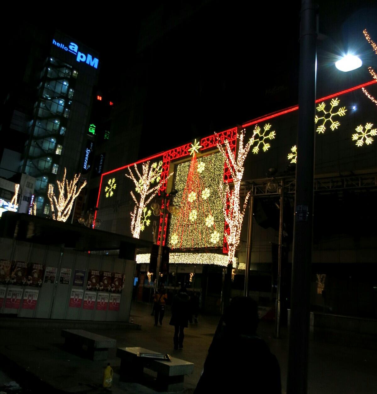 X\'mas in Seoul ⑥深夜専用バスで、夜中の東大門も安心♪_f0236260_158728.jpg