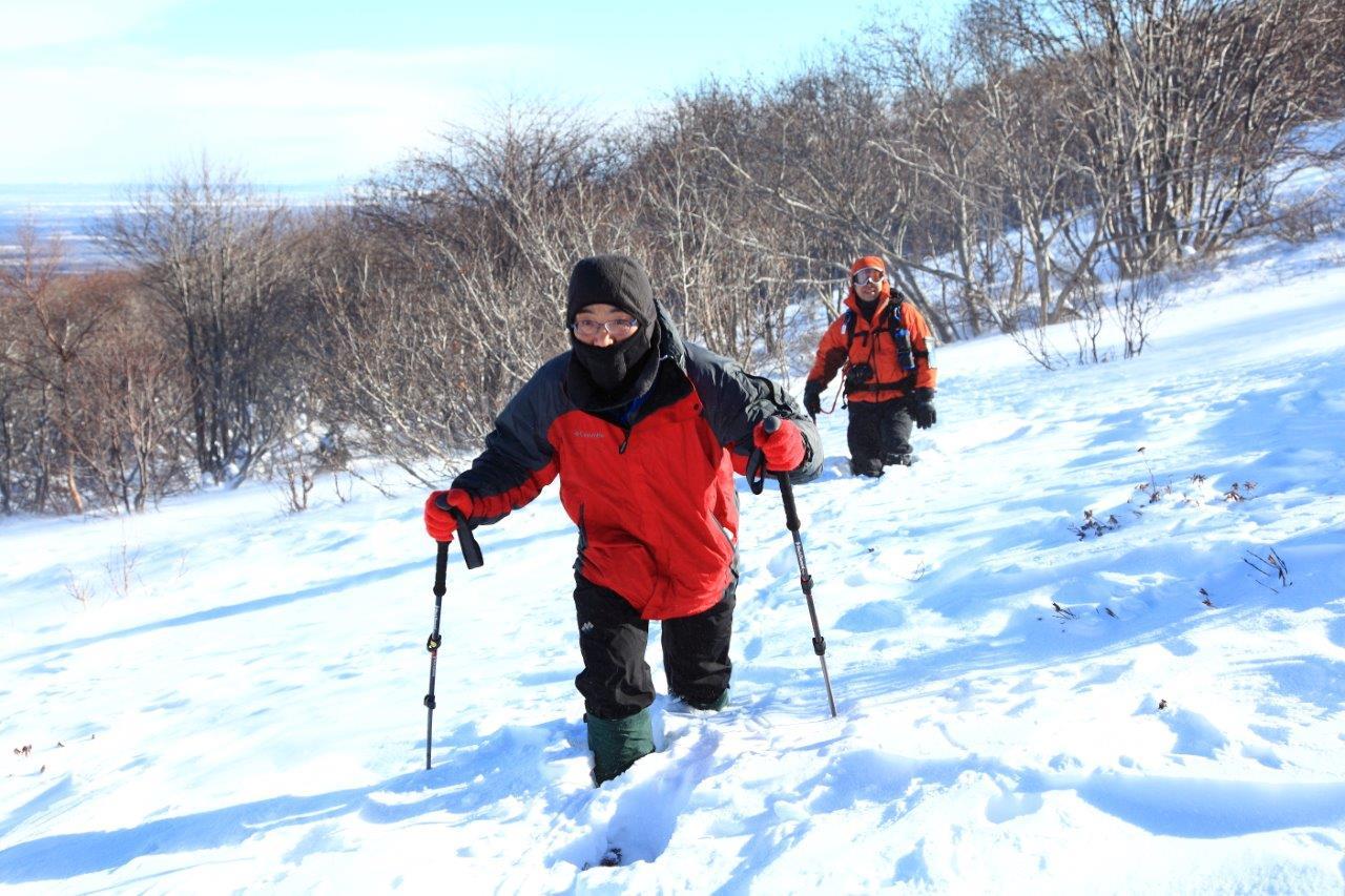 1月5日、樽前山-同行者からの写真-_f0138096_11313090.jpg