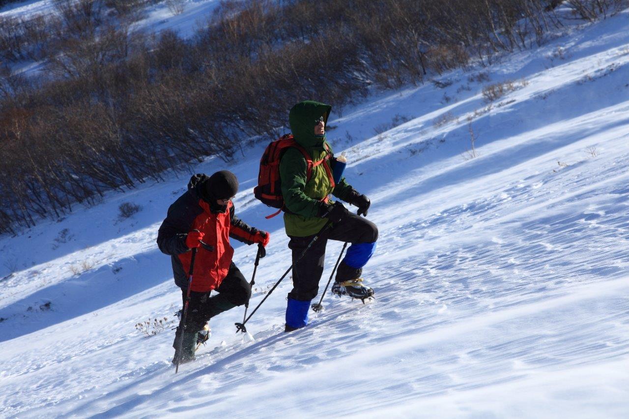 1月5日、樽前山-同行者からの写真-_f0138096_1131413.jpg
