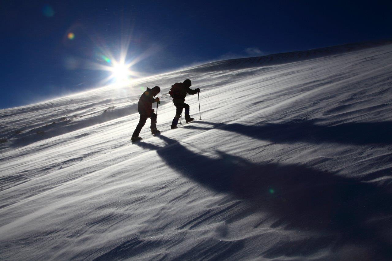 1月5日、樽前山-同行者からの写真-_f0138096_11315541.jpg