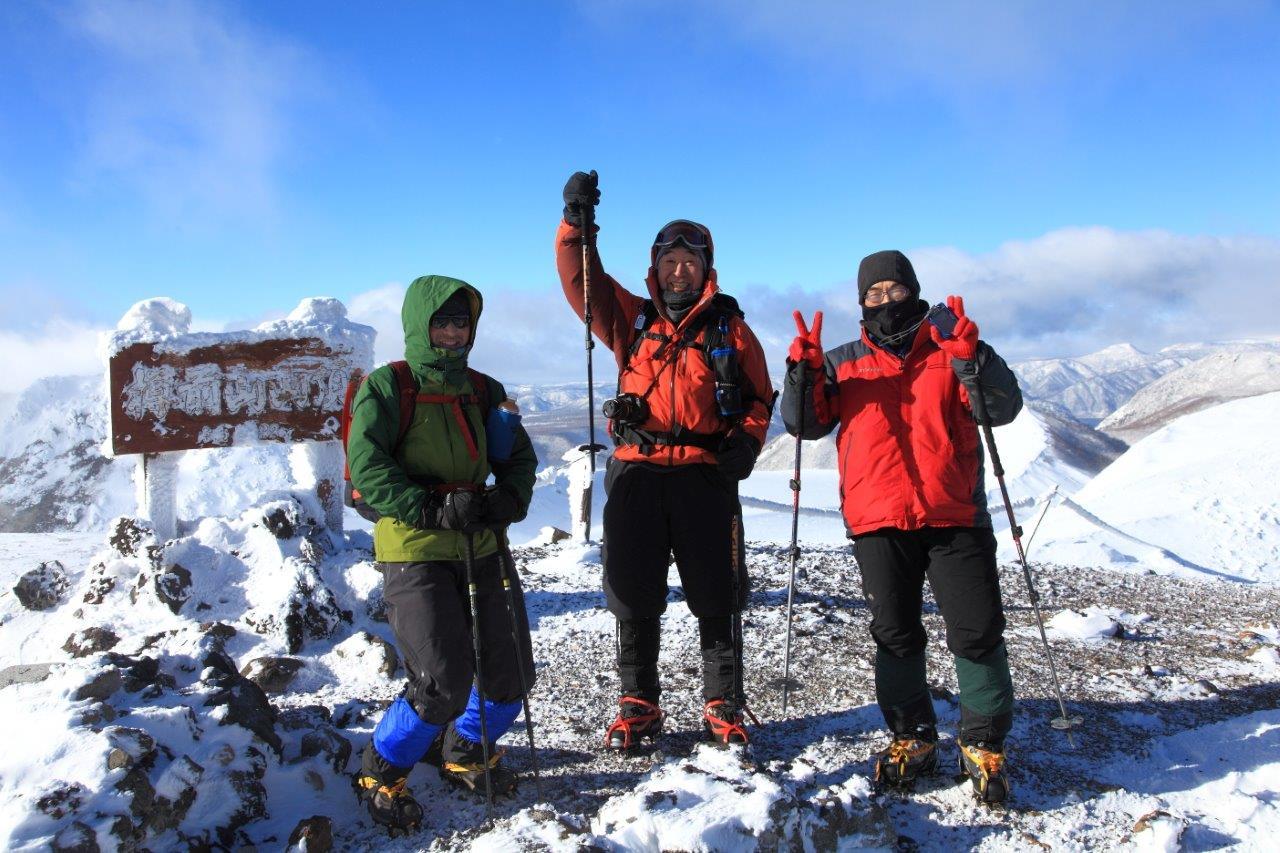 1月5日、樽前山-同行者からの写真-_f0138096_1132659.jpg