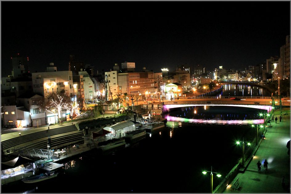 「LEDに彩られる水都・徳島の風景」_d0133024_10453792.jpg