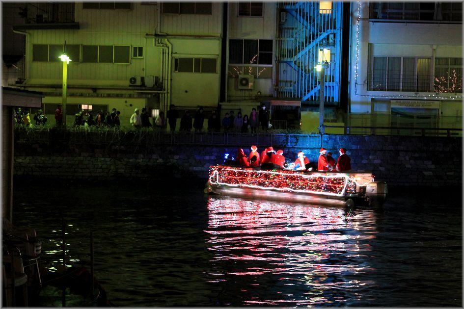「徳島・川にサンタのいる風景」_d0133024_1913545.jpg