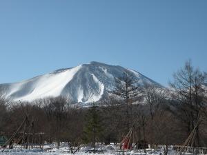 浅間山を見ながら御あいさつ。_b0174425_17501640.jpg