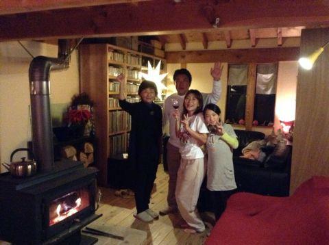 新年は、しいたけ&初詣_a0103759_19455611.jpg