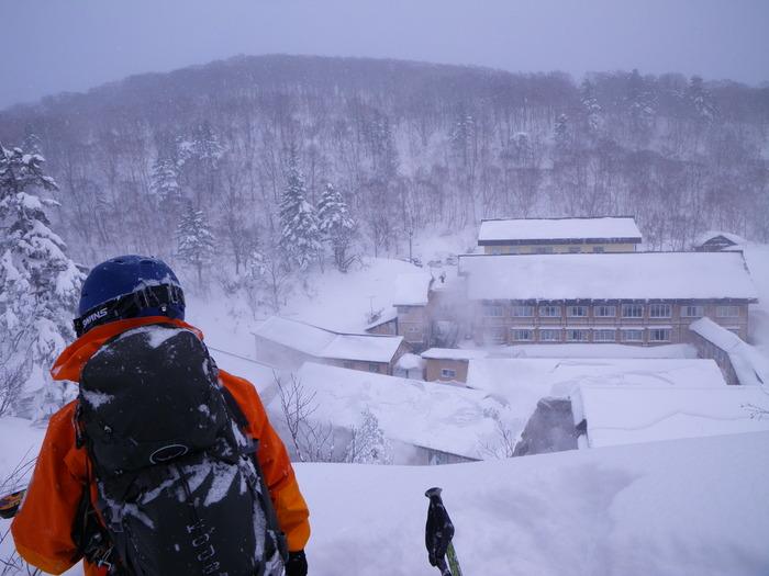 後生掛温泉スキーツアー(その2) ~ 2013年12月29日_f0170180_2237257.jpg