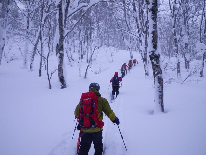 後生掛温泉スキーツアー(その2) ~ 2013年12月29日_f0170180_22382537.jpg