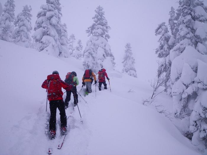 後生掛温泉スキーツアー(その2) ~ 2013年12月29日_f0170180_22403571.jpg