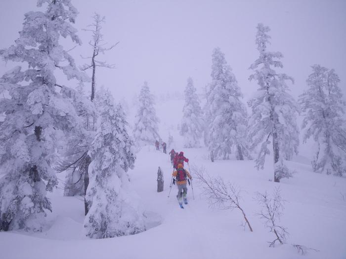 後生掛温泉スキーツアー(その2) ~ 2013年12月29日_f0170180_2244417.jpg