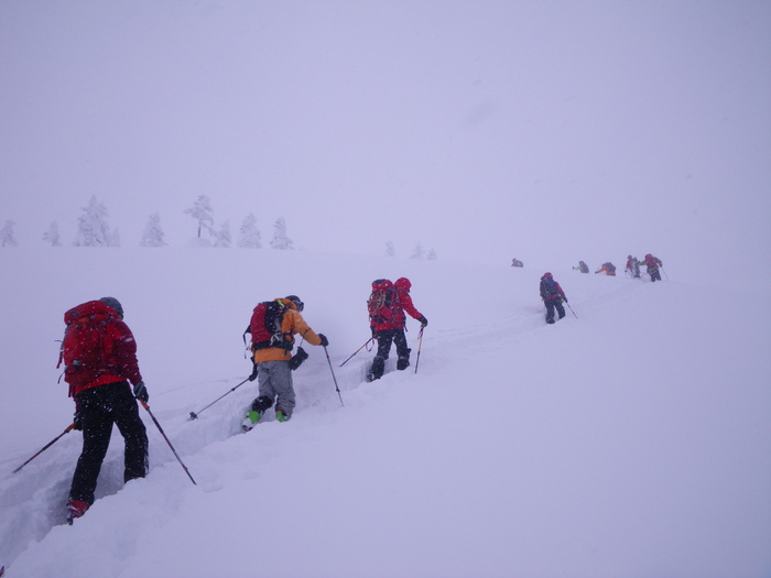 後生掛温泉スキーツアー(その2) ~ 2013年12月29日_f0170180_2245842.jpg