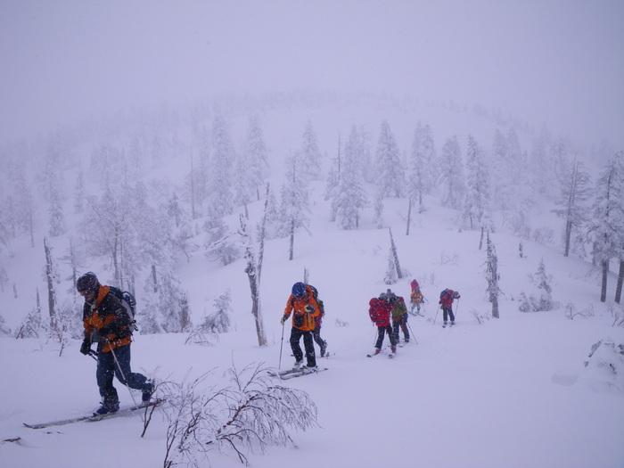 後生掛温泉スキーツアー(その2) ~ 2013年12月29日_f0170180_22502537.jpg