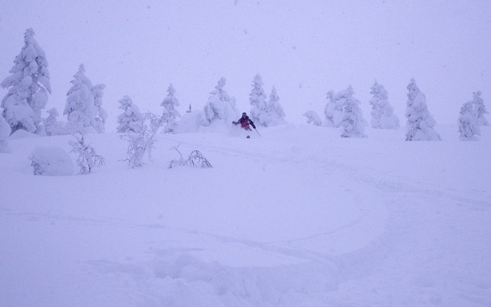 後生掛温泉スキーツアー(その2) ~ 2013年12月29日_f0170180_22563972.jpg