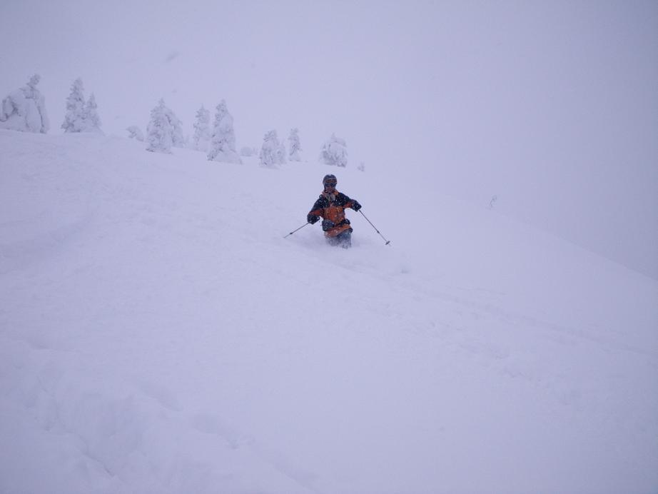 後生掛温泉スキーツアー(その2) ~ 2013年12月29日_f0170180_23131334.jpg