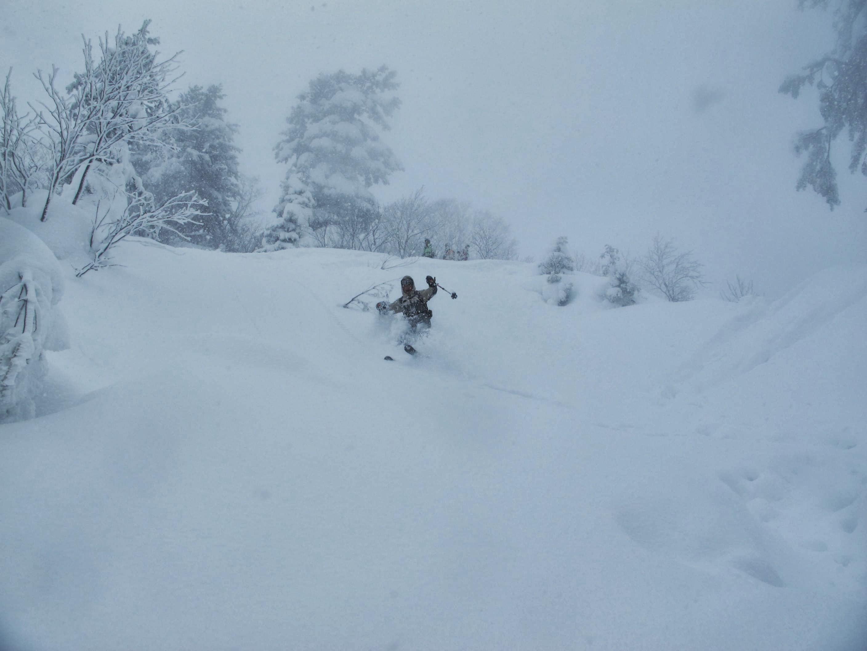 後生掛温泉スキーツアー(その2) ~ 2013年12月29日_f0170180_23203523.jpg