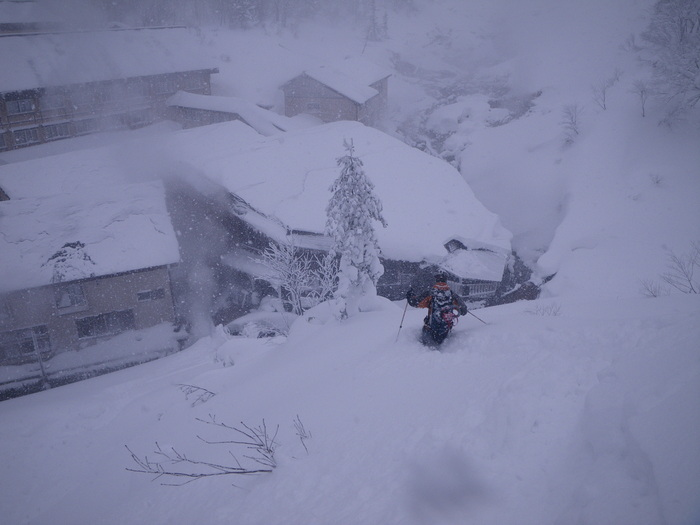 後生掛温泉スキーツアー(その2) ~ 2013年12月29日_f0170180_2344589.jpg