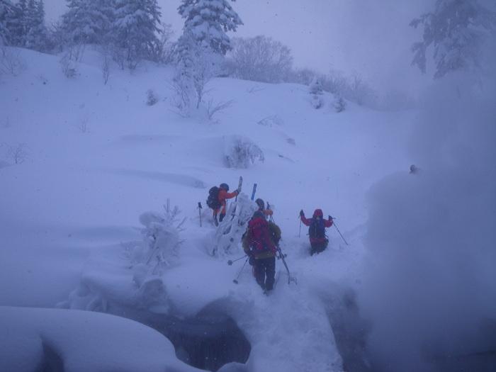 後生掛温泉スキーツアー(その2) ~ 2013年12月29日_f0170180_23531551.jpg