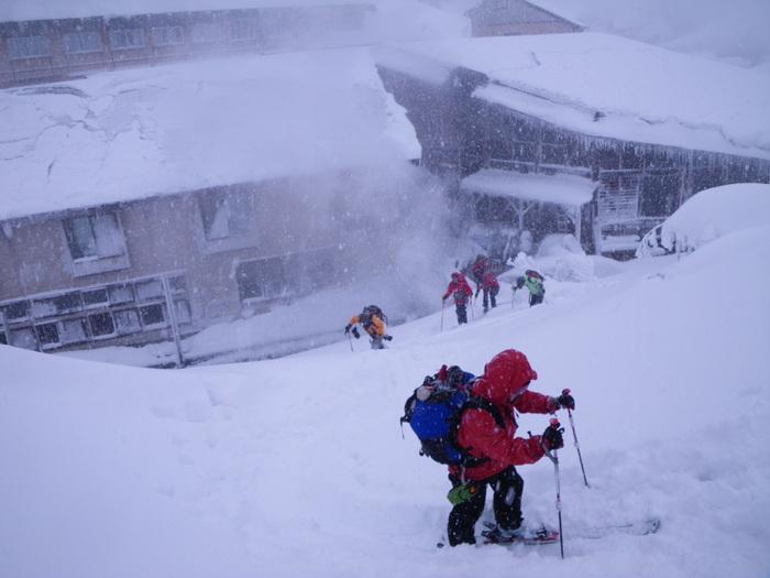 後生掛温泉スキーツアー(その2) ~ 2013年12月29日_f0170180_7144059.jpg