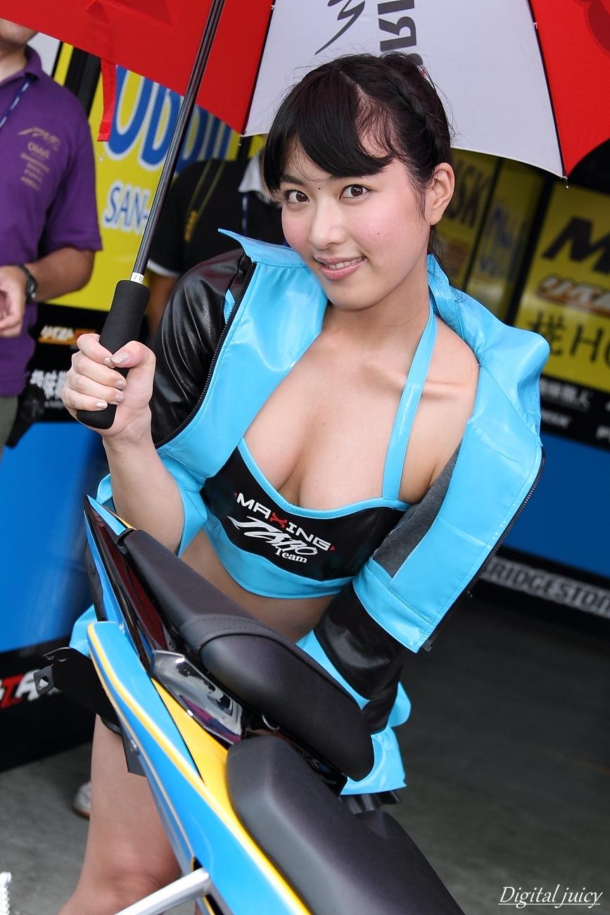 由愛可奈 さん(Team TARO PLUS ONE レースクイーン)_c0216181_22312714.jpg