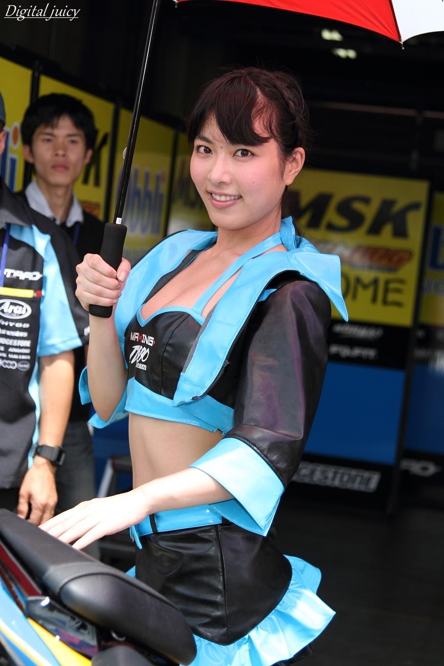 由愛可奈 さん(Team TARO PLUS ONE レースクイーン)_c0216181_2231616.jpg