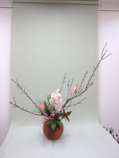 お正月花_c0165824_16155094.jpg
