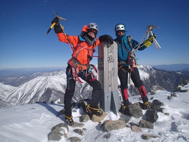 2013年のラストは、聖岳東尾根_b0133032_84377.jpg