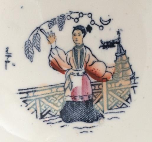 七草粥は天女舞うカフェ・オ・レ・ボウル「BOCH FRERES KERAMIS」でほっこり気分。_a0138976_2033720.jpg